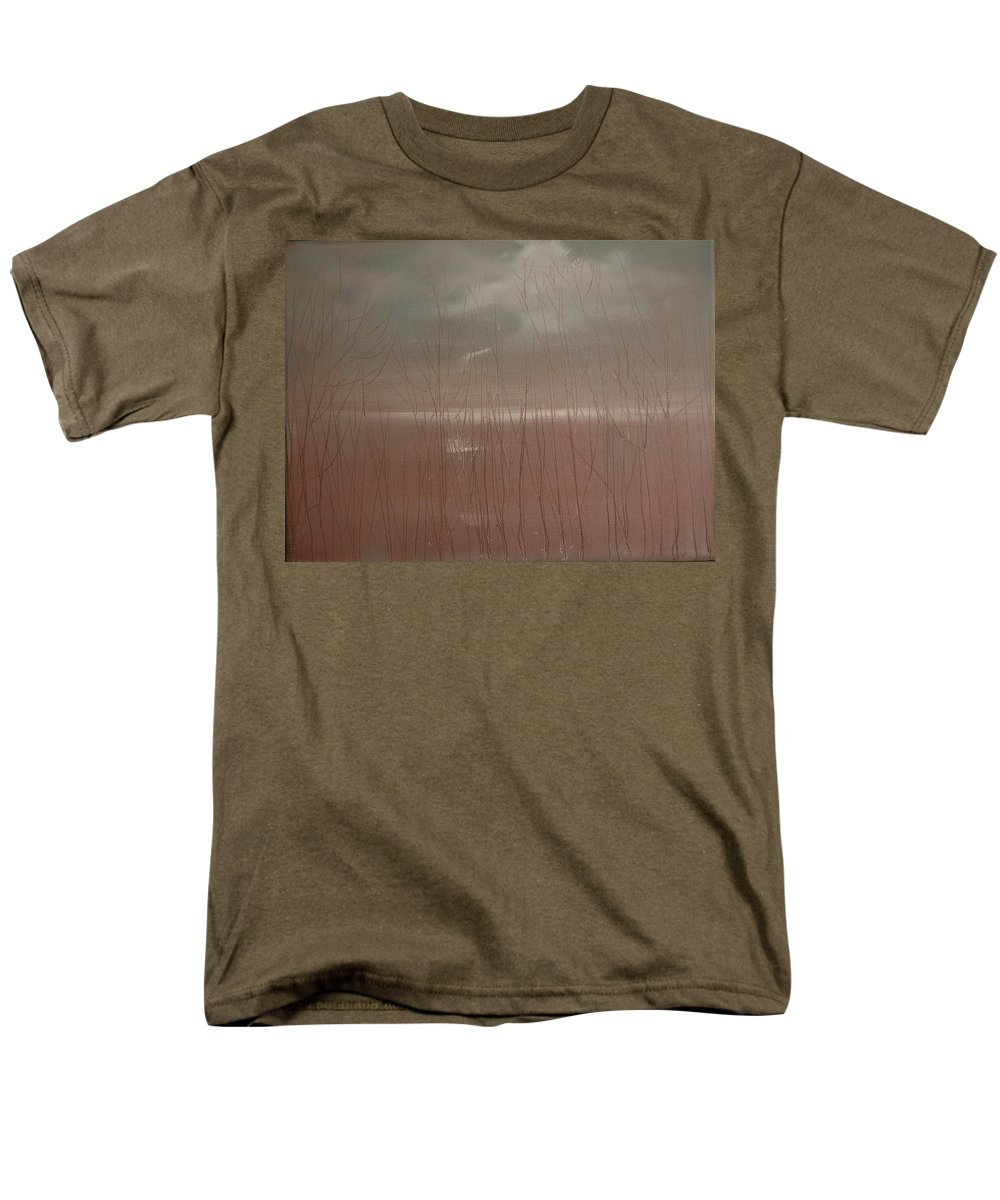 Prints Men's T-Shirt (Regular Fit) featuring the painting Winter Of Hope by Jack Diamond