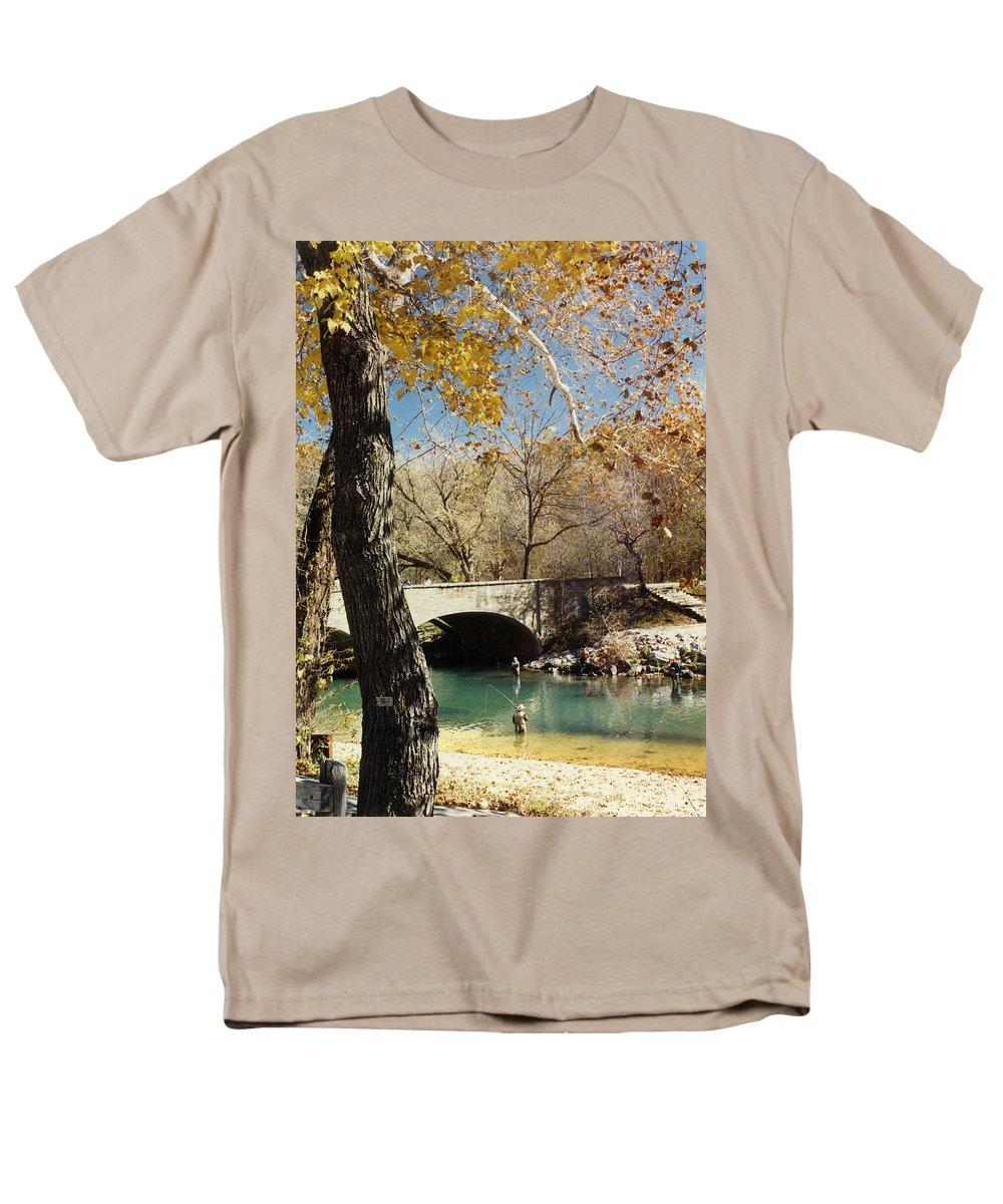 Landscape Men's T-Shirt (Regular Fit) featuring the photograph Bennet Springs by Steve Karol