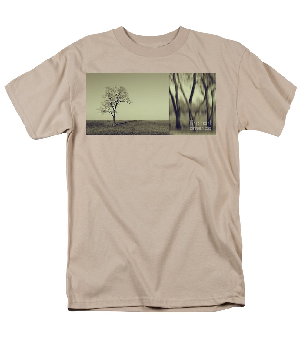 Chicago Men's T-Shirt (Regular Fit) featuring the photograph Can You Hear My Silent Words Whispering Along the Wind by Dana DiPasquale