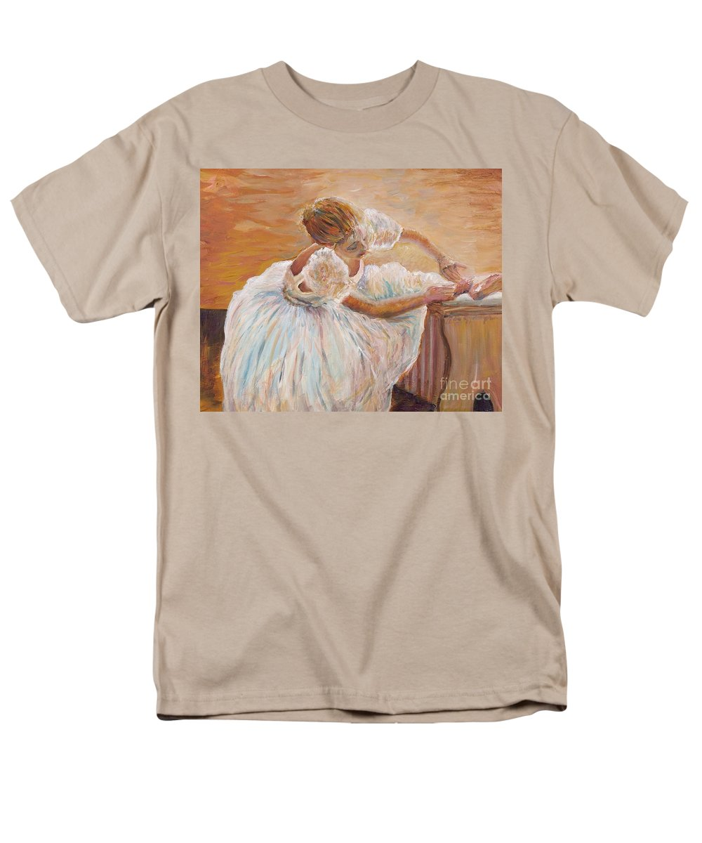 Dancer Men's T-Shirt (Regular Fit) featuring the painting Kaylea by Nadine Rippelmeyer