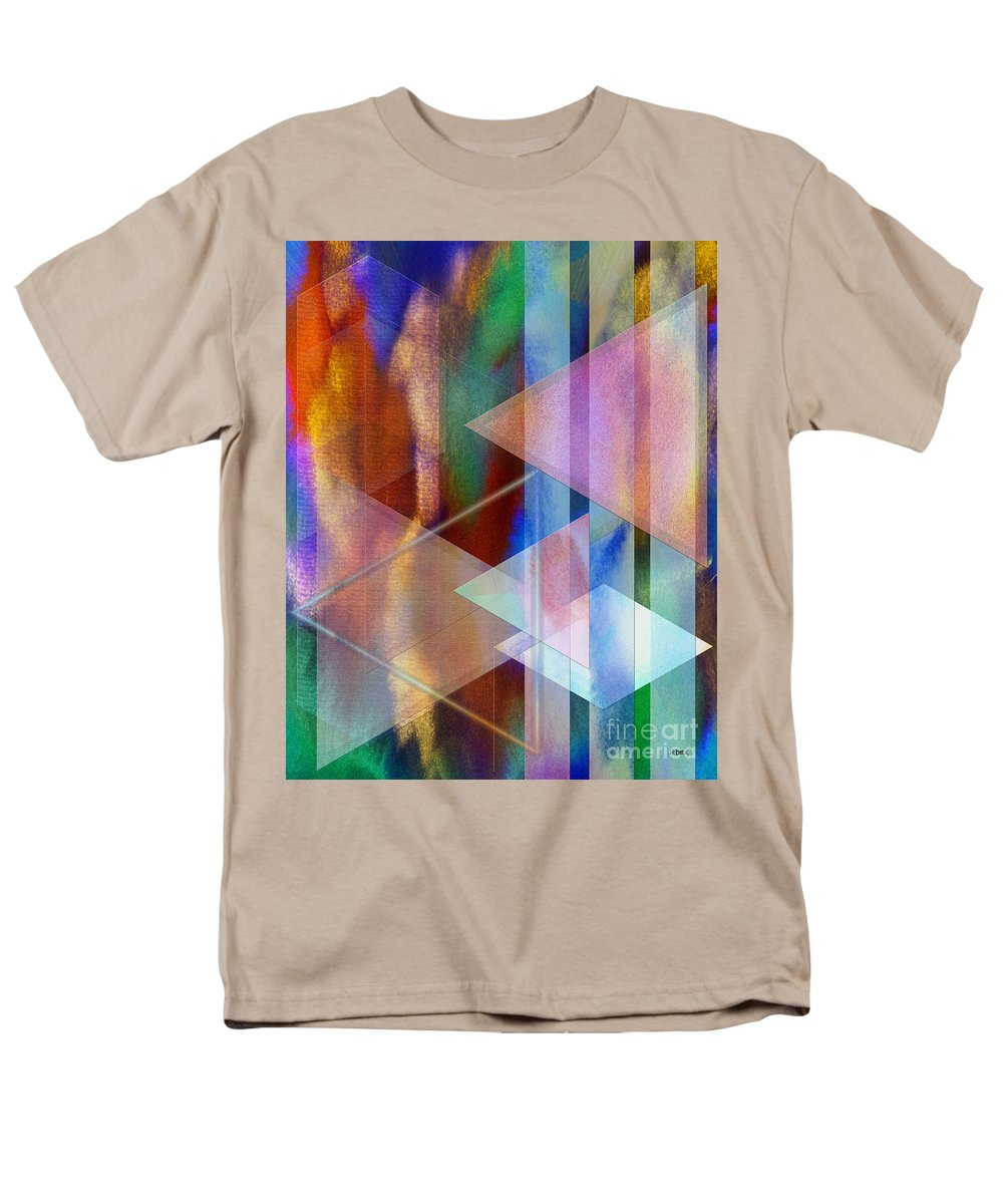 Pastoral Midnight Men's T-Shirt (Regular Fit) featuring the digital art Pastoral Midnight by John Beck