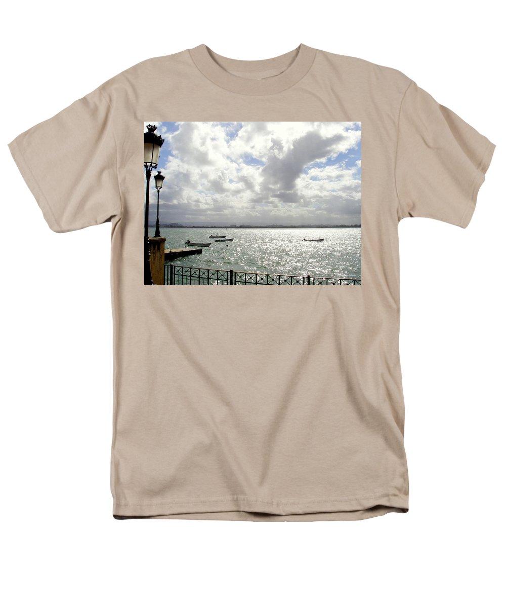Seaside Men's T-Shirt (Regular Fit) featuring the photograph Serene by Deborah Crew-Johnson