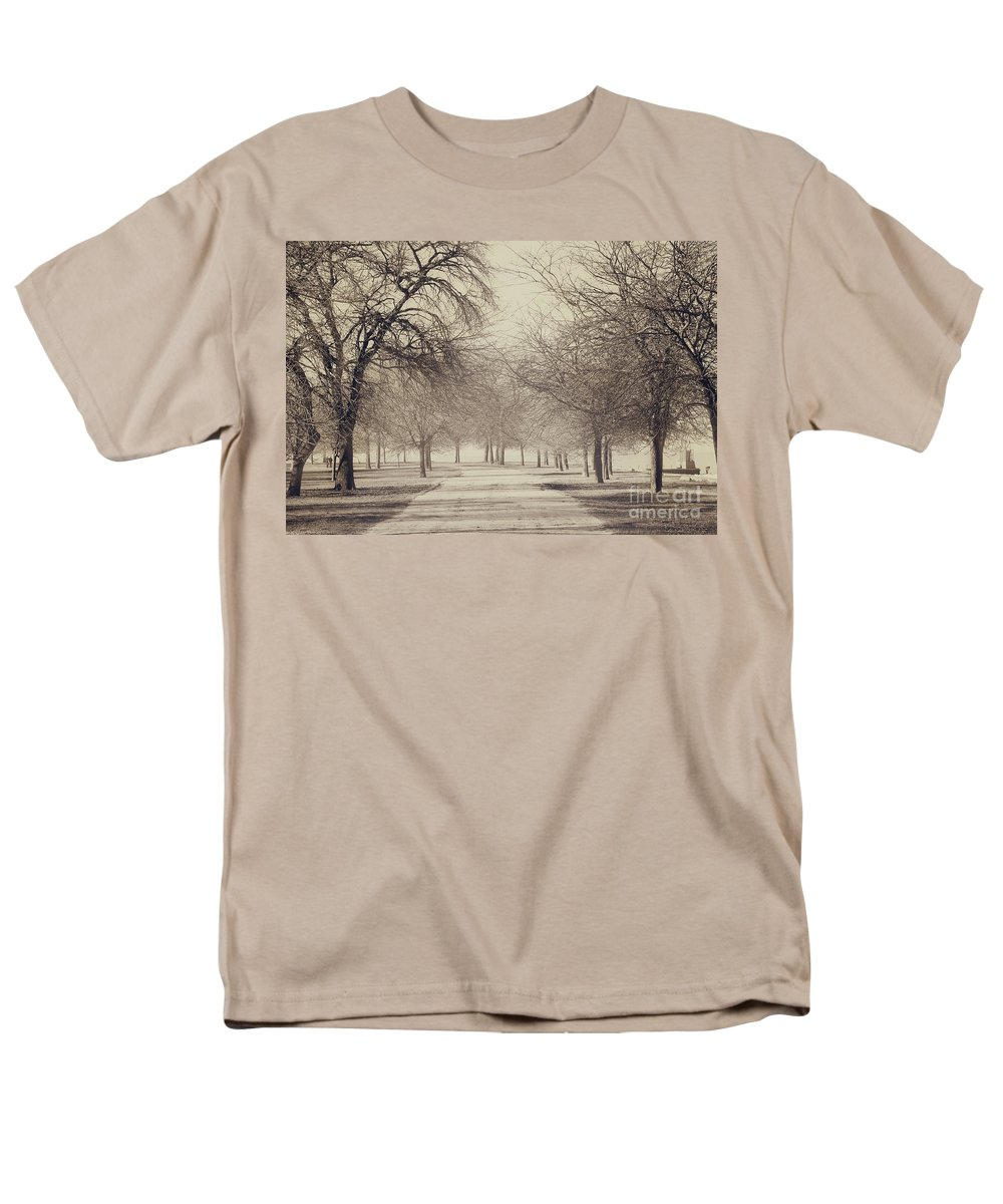Trees Men's T-Shirt (Regular Fit) featuring the photograph Stand Where I Stood by Dana DiPasquale
