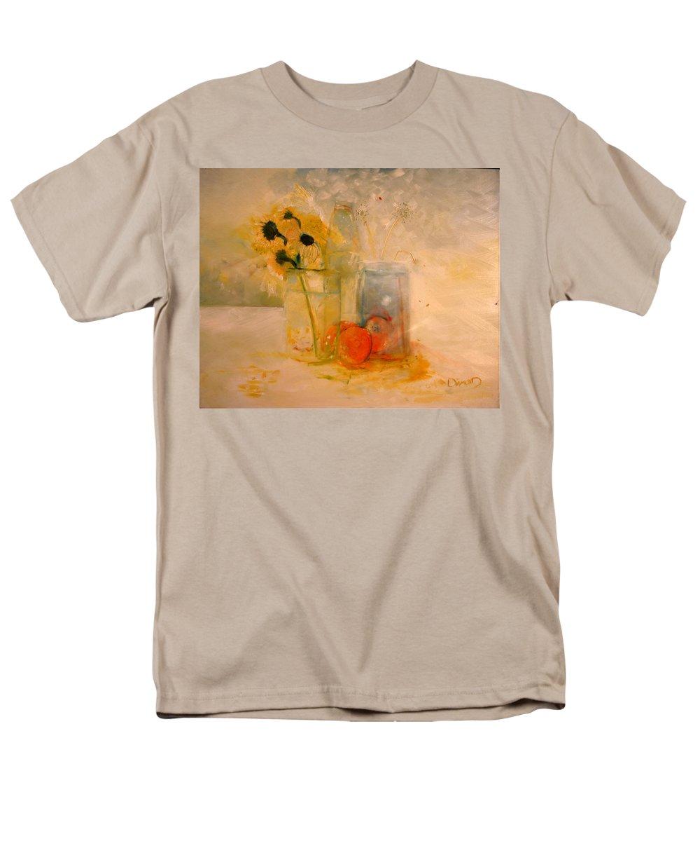 Artwork Men's T-Shirt (Regular Fit) featuring the painting Summer Light by Jack Diamond