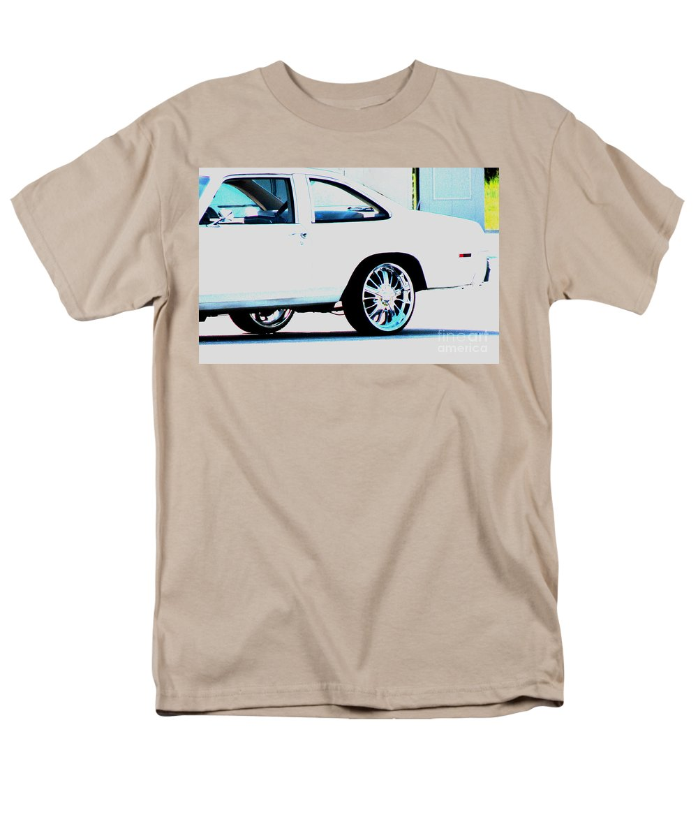 Car Men's T-Shirt (Regular Fit) featuring the photograph The ride by Amanda Barcon