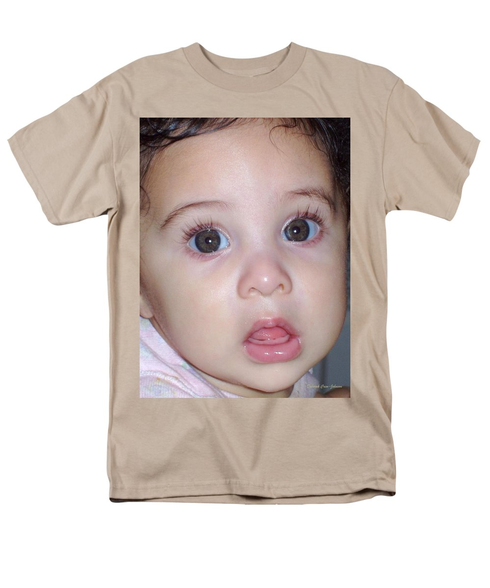 Deborah Crew-johnson Men's T-Shirt (Regular Fit) featuring the photograph Those Eyes by Deborah Crew-Johnson