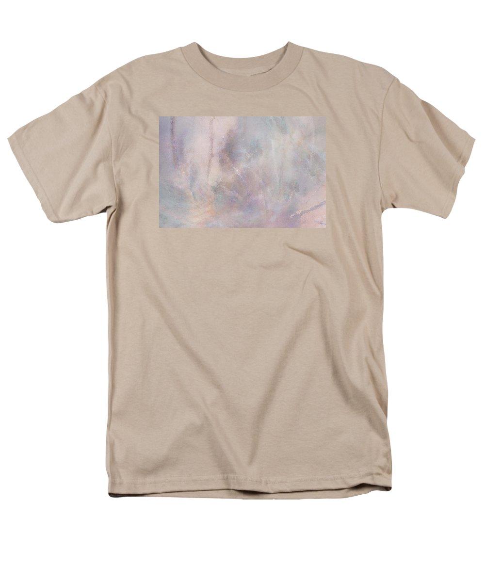 Digital Art Men's T-Shirt (Regular Fit) featuring the digital art Vanishing Act by Linda Murphy