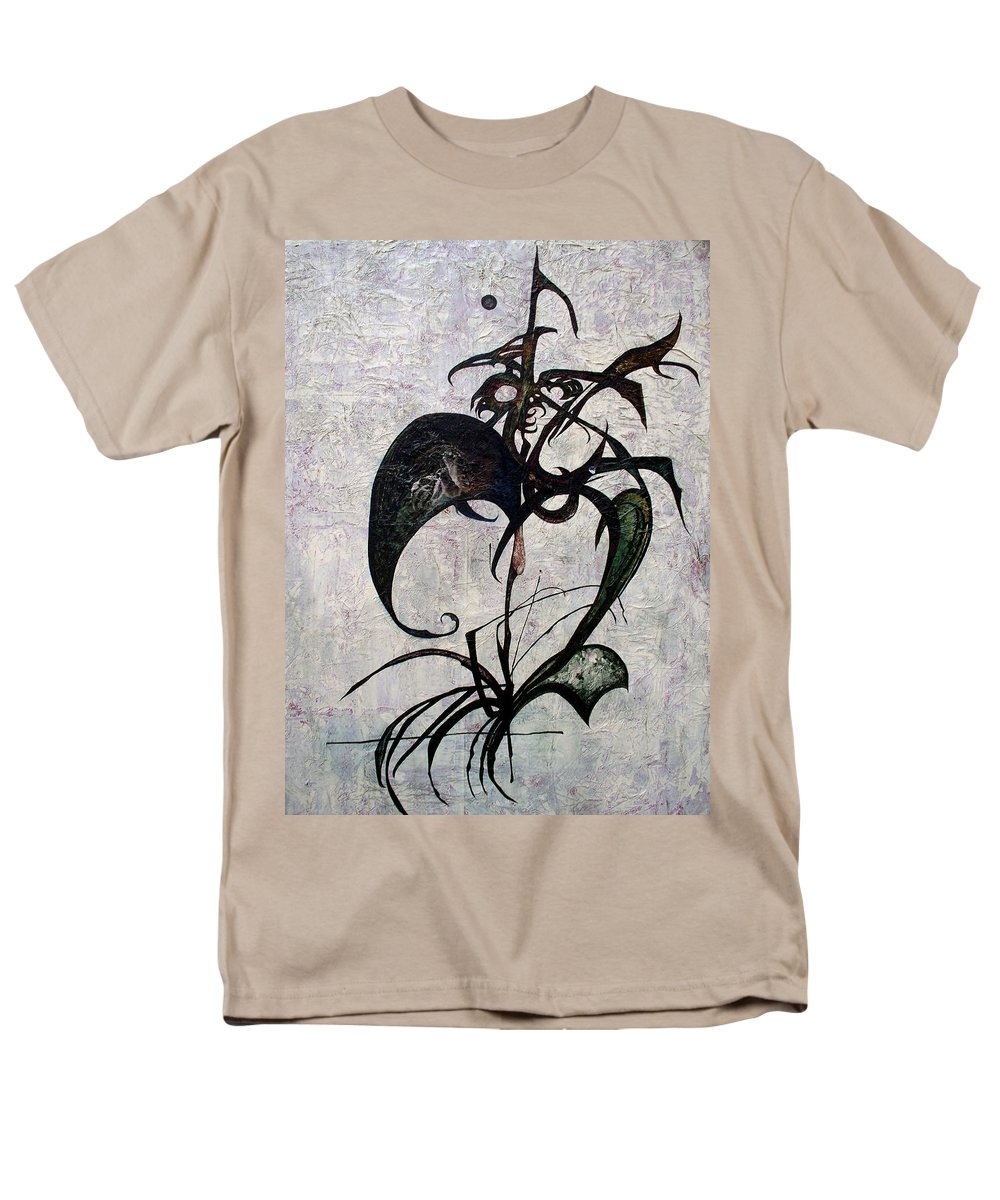 Mythical Beast Men's T-Shirt (Regular Fit) featuring the painting The Gryphon by Heather Joi