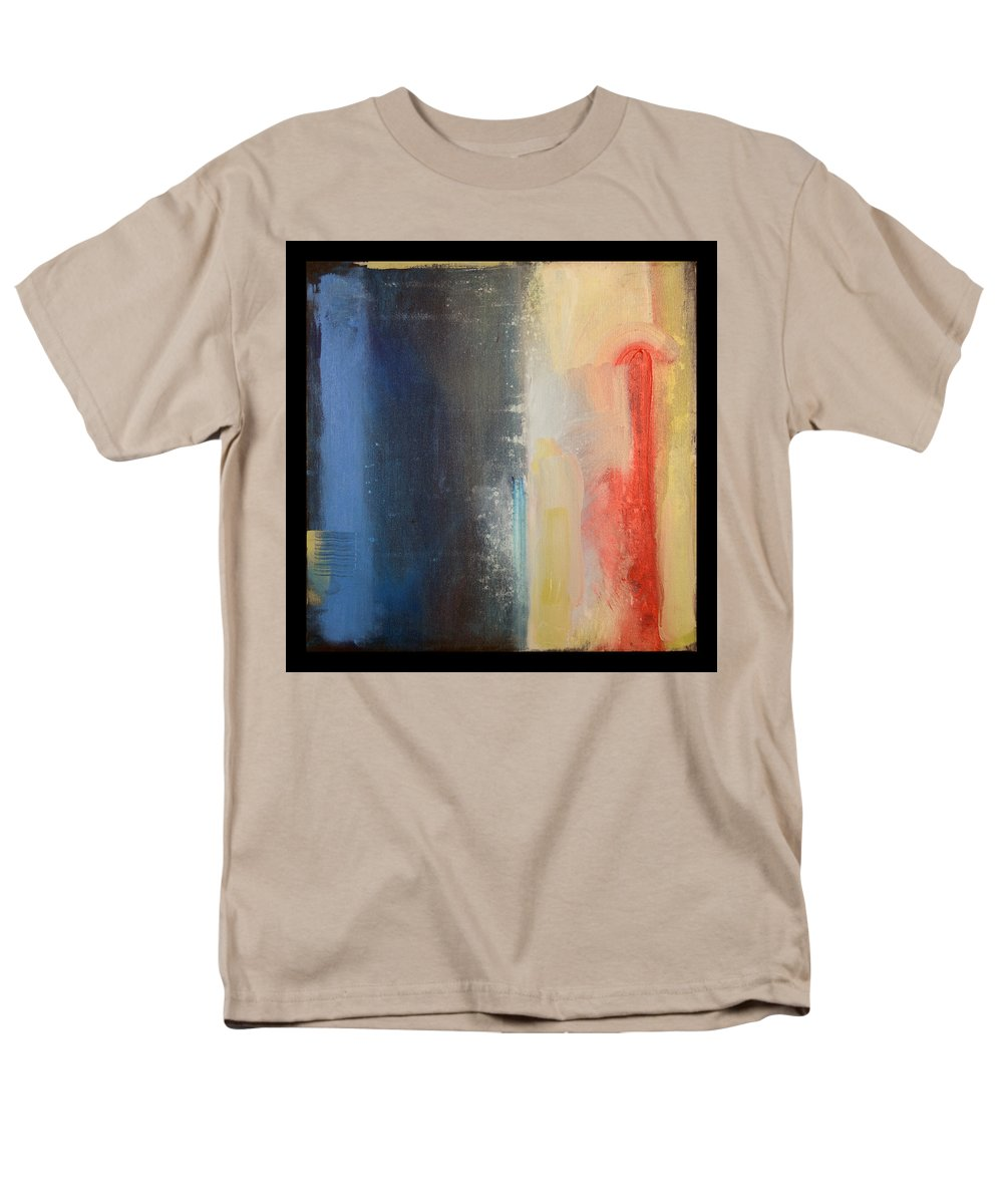 Abstract Men's T-Shirt (Regular Fit) featuring the painting Requiem by Tim Nyberg
