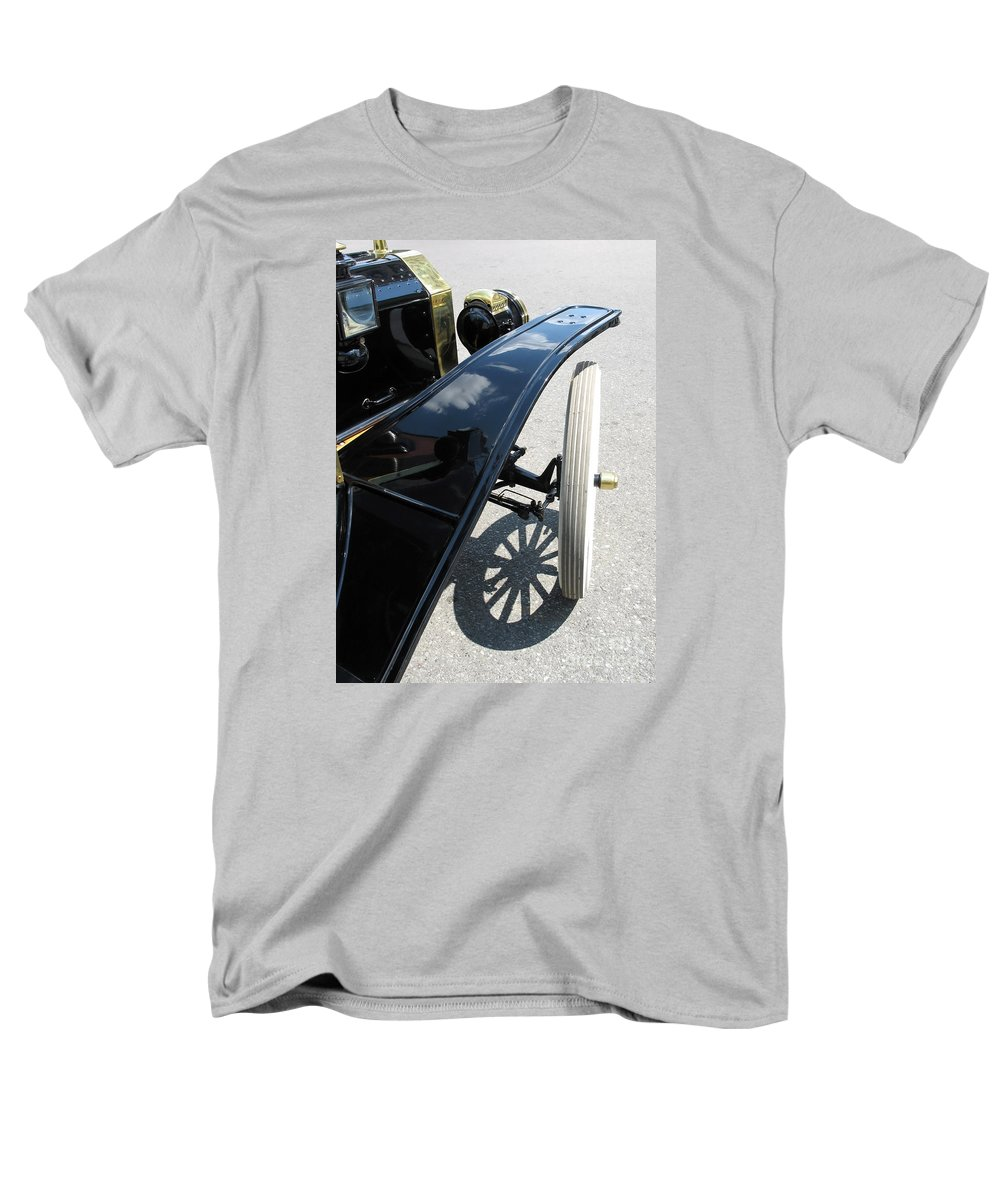 Model T Men's T-Shirt (Regular Fit) featuring the photograph Vintage Model T by Ann Horn