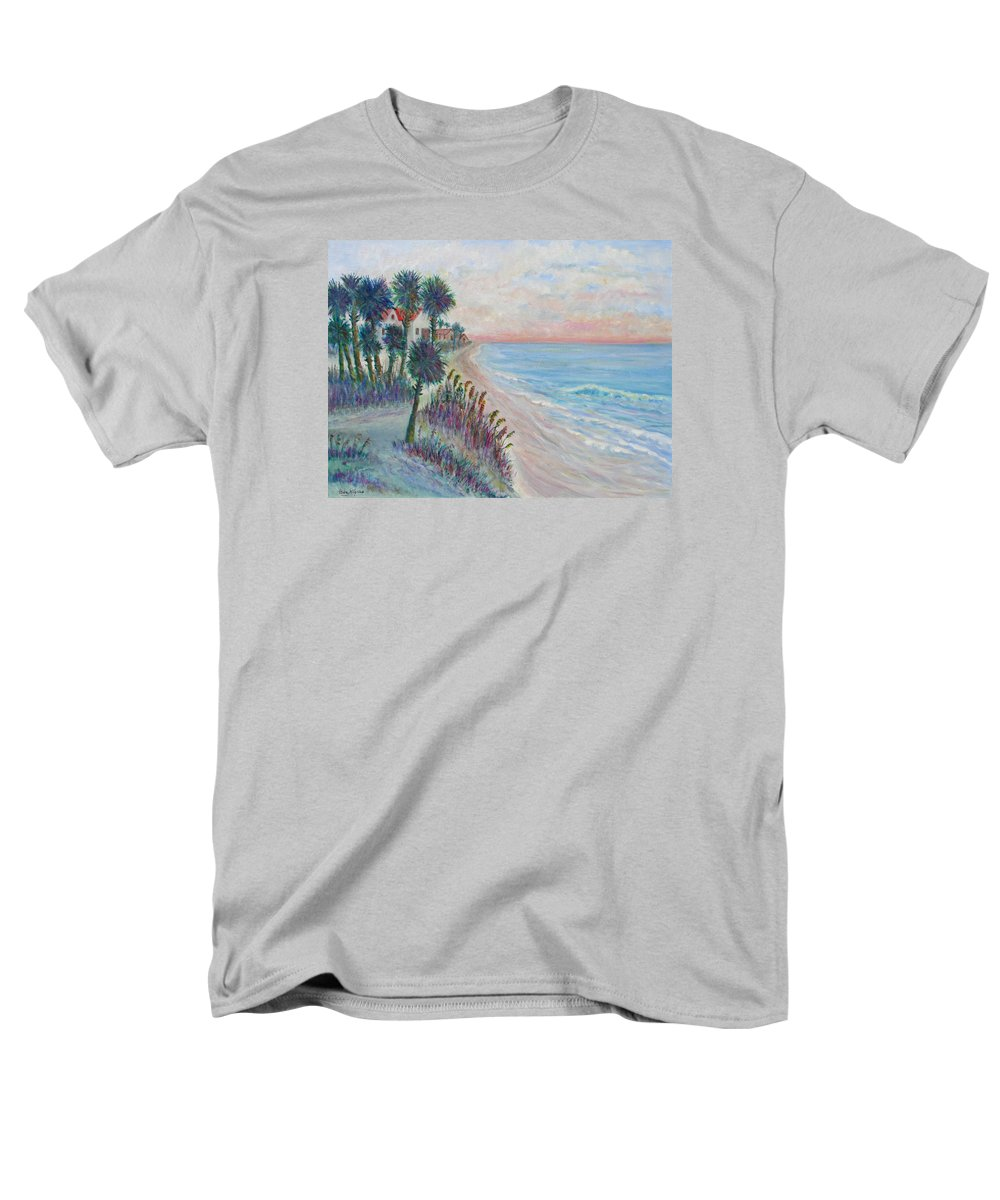 Seascape Men's T-Shirt (Regular Fit) featuring the painting Isle of Palms by Ben Kiger