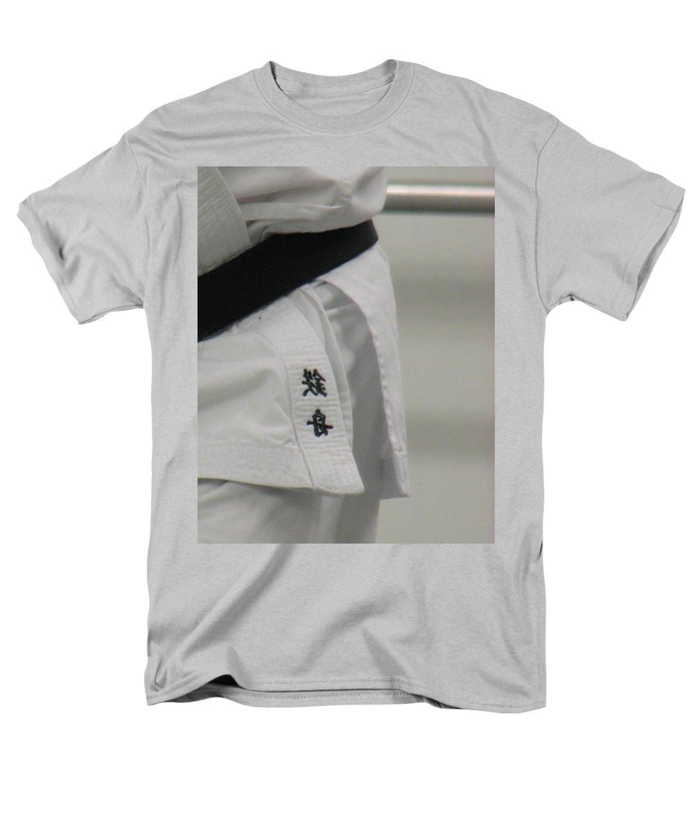 Karate Men's T-Shirt (Regular Fit) featuring the photograph Gi by Kelly Mezzapelle