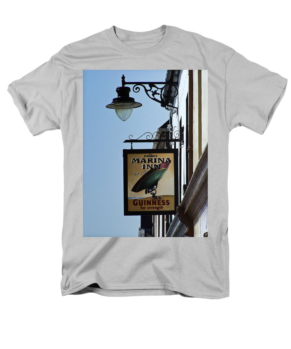 Irish Men's T-Shirt (Regular Fit) featuring the photograph Guinness for Strength Dingle Ireland by Teresa Mucha