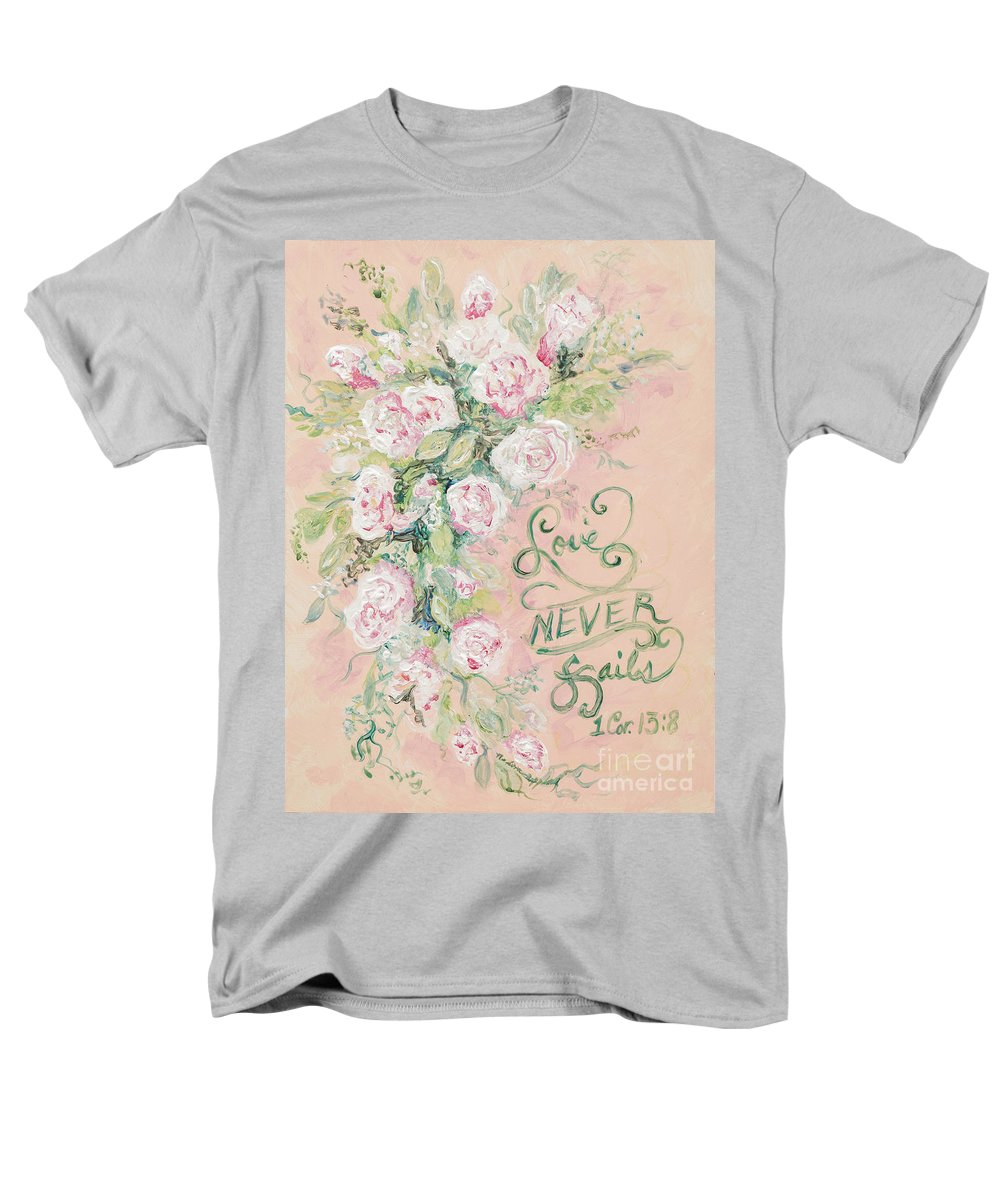 Beloved Men's T-Shirt (Regular Fit) featuring the painting Beloved by Nadine Rippelmeyer
