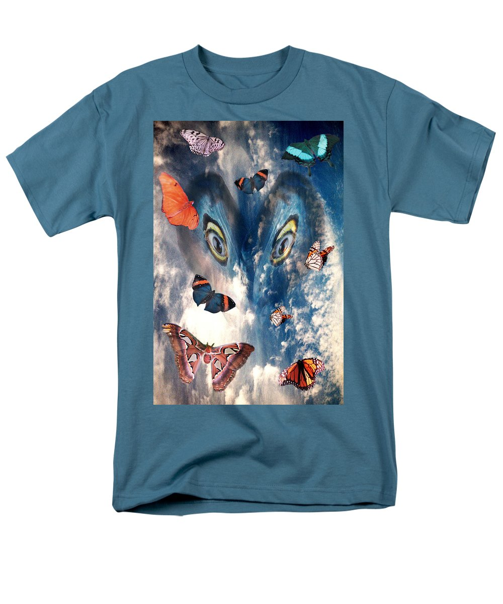 Air Men's T-Shirt (Regular Fit) featuring the digital art Air by Lisa Yount