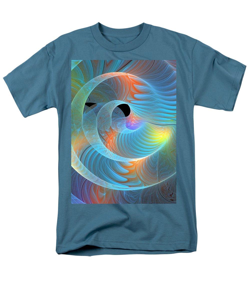 Digital Art Men's T-Shirt (Regular Fit) featuring the digital art Moment of Elation by Amanda Moore