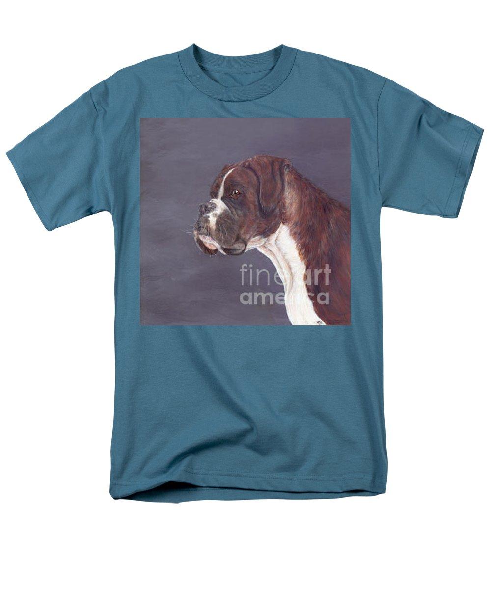 Oil Men's T-Shirt (Regular Fit) featuring the painting sox by Keran Sunaski Gilmore