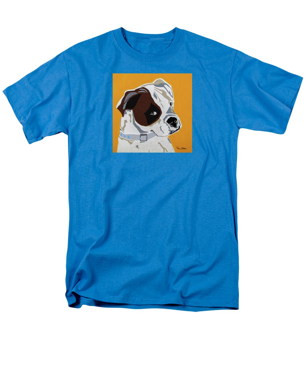 Boxer Men's T-Shirt (Regular Fit) featuring the painting Boxer by Slade Roberts