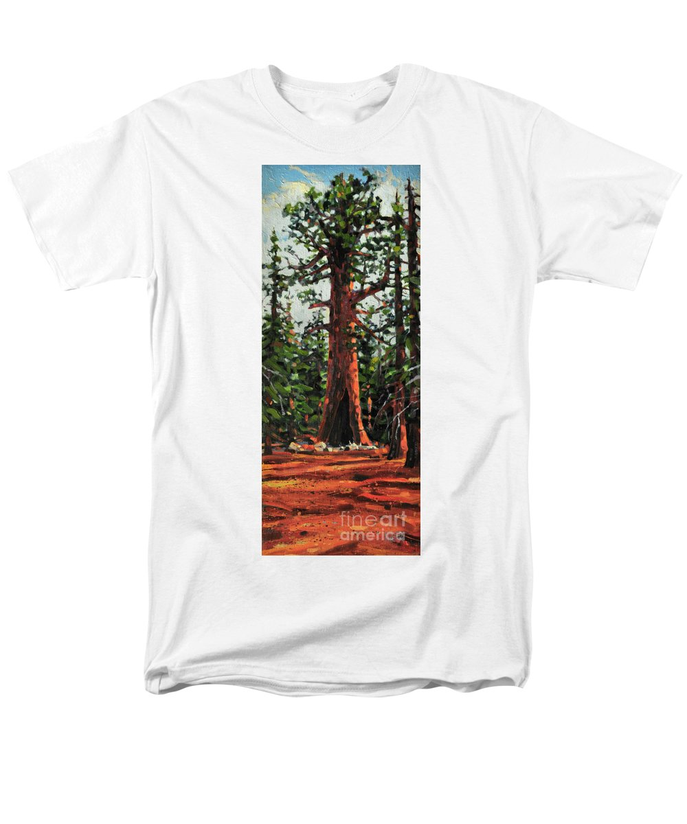 General Sherman Men's T-Shirt (Regular Fit) featuring the painting General Sherman by Donald Maier