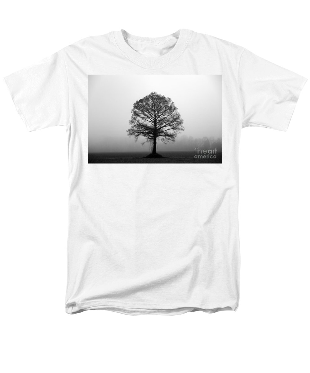 Tree Men's T-Shirt (Regular Fit) featuring the photograph The Tree by Amanda Barcon