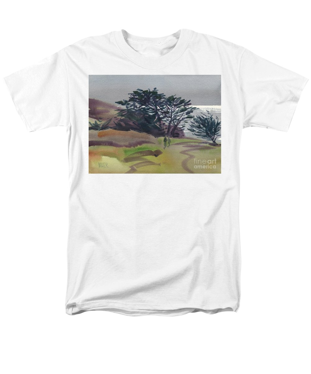 Plein Air Men's T-Shirt (Regular Fit) featuring the painting Miramonte Point 1 by Donald Maier