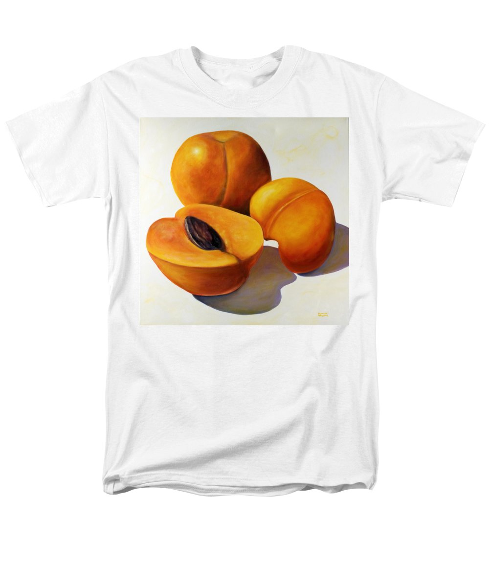 Apricots Men's T-Shirt (Regular Fit) featuring the painting Apricots by Shannon Grissom