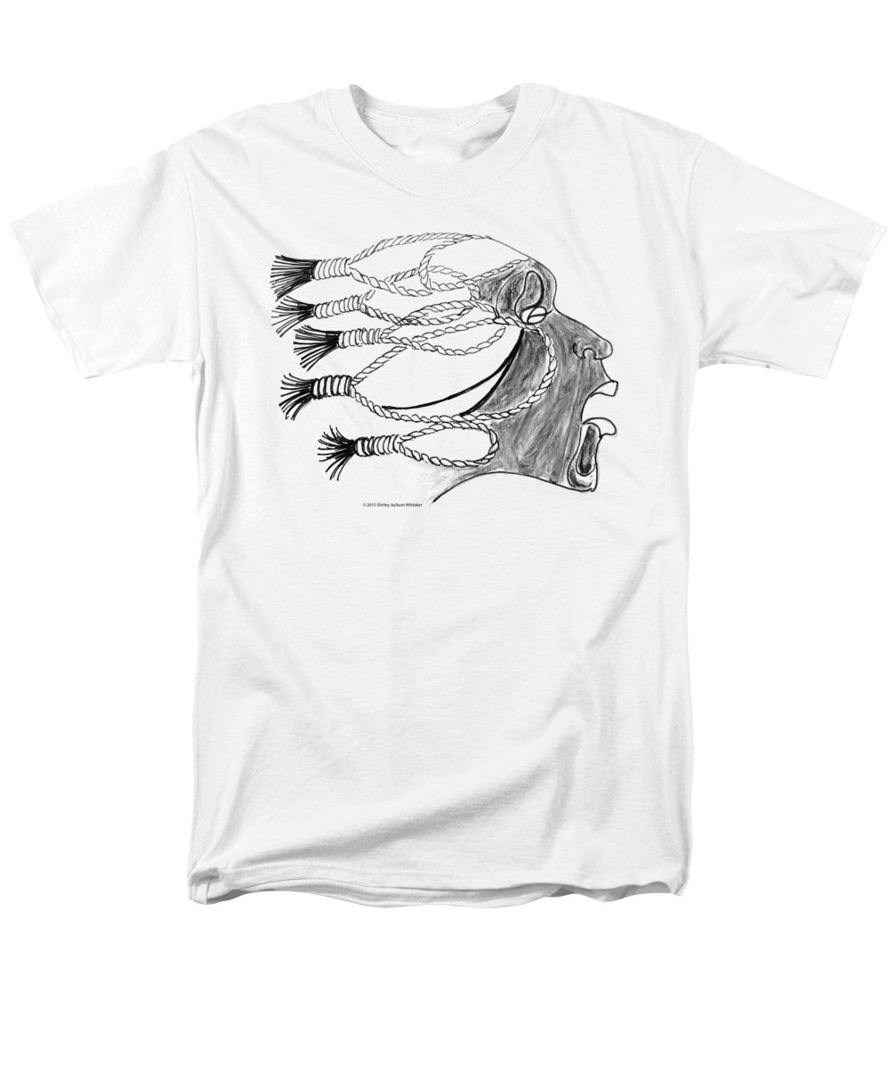 Ashes To Ashes Men's T-Shirt (Regular Fit) featuring the digital art Ashes 2 Ashes by Shirley Whitaker
