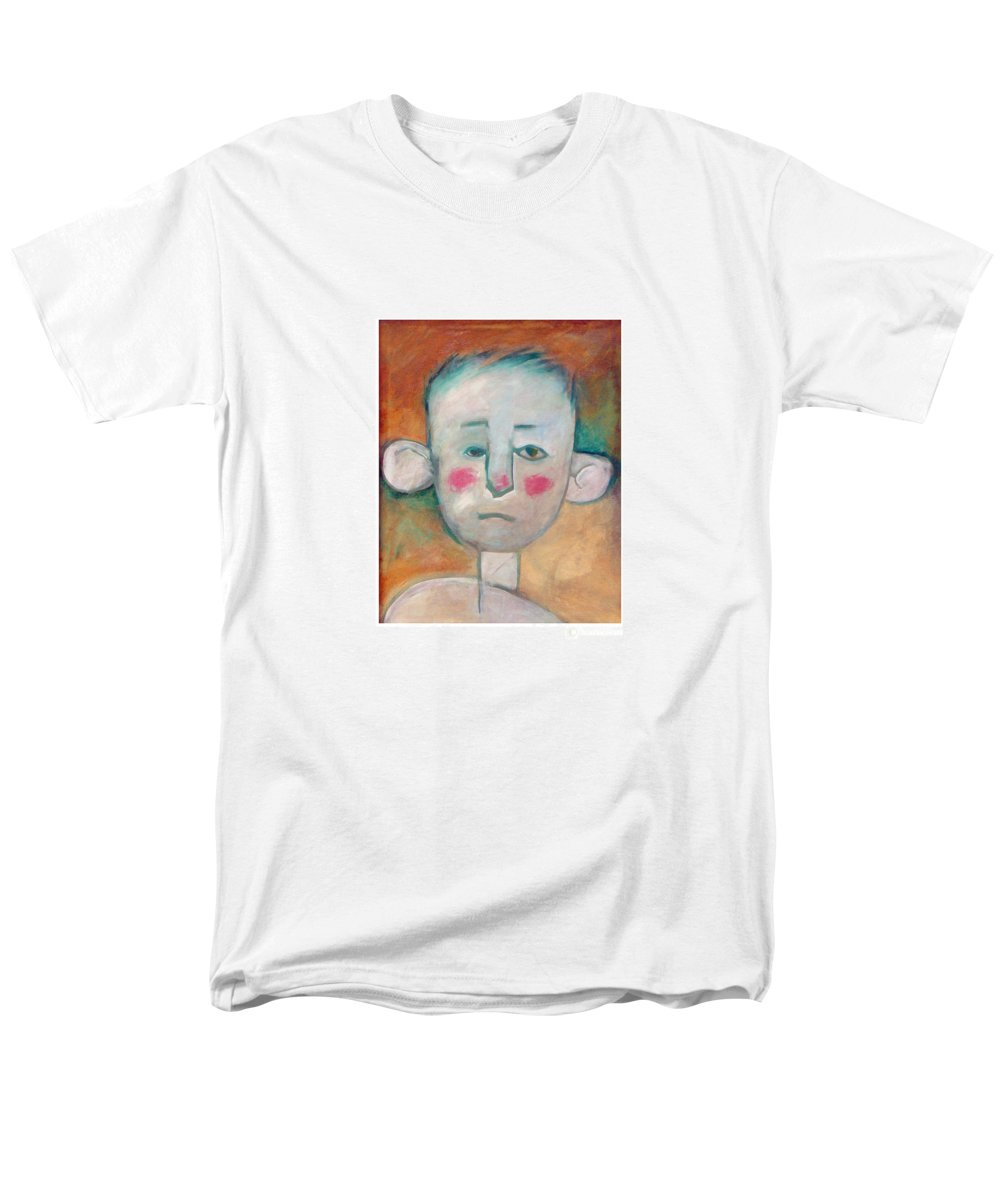Boy Men's T-Shirt (Regular Fit) featuring the painting Boy by Tim Nyberg