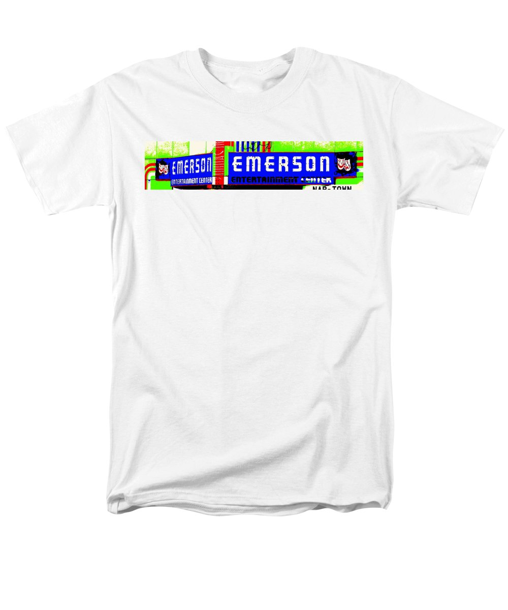 Music Men's T-Shirt (Regular Fit) featuring the photograph Old Theater by Edward Smith