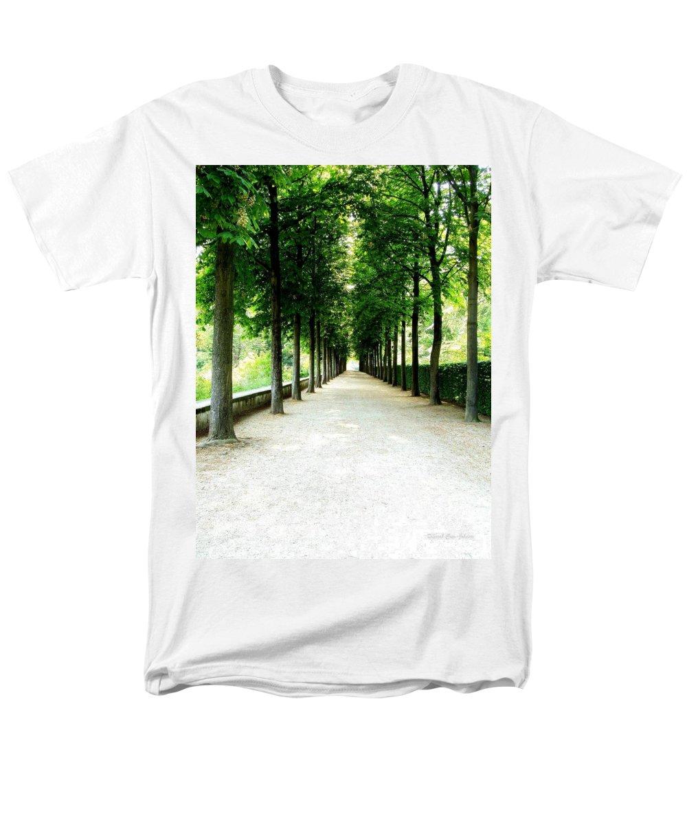 Path Men's T-Shirt (Regular Fit) featuring the photograph Pathway by Deborah Crew-Johnson