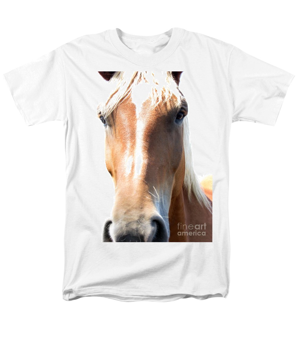 Horse Men's T-Shirt (Regular Fit) featuring the photograph Sweetie by Amanda Barcon