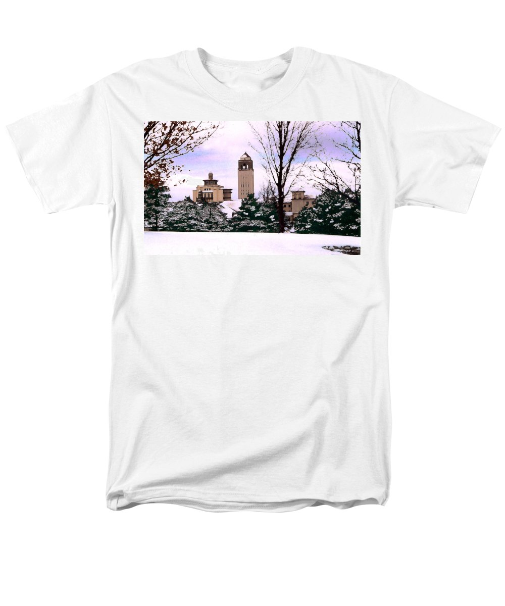 Landscape Men's T-Shirt (Regular Fit) featuring the photograph Unity Village by Steve Karol