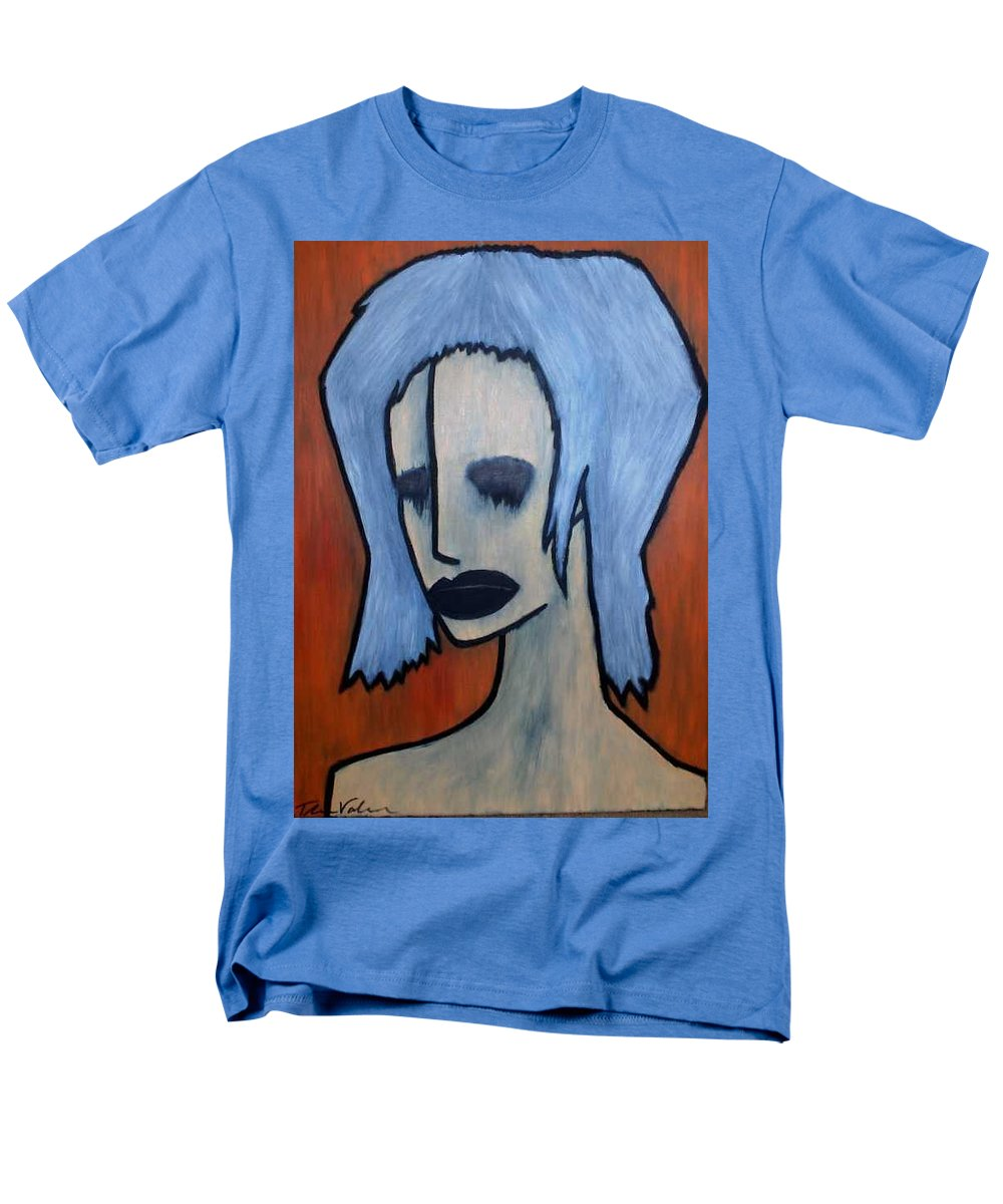 Potrait Men's T-Shirt (Regular Fit) featuring the painting Halloween by Thomas Valentine