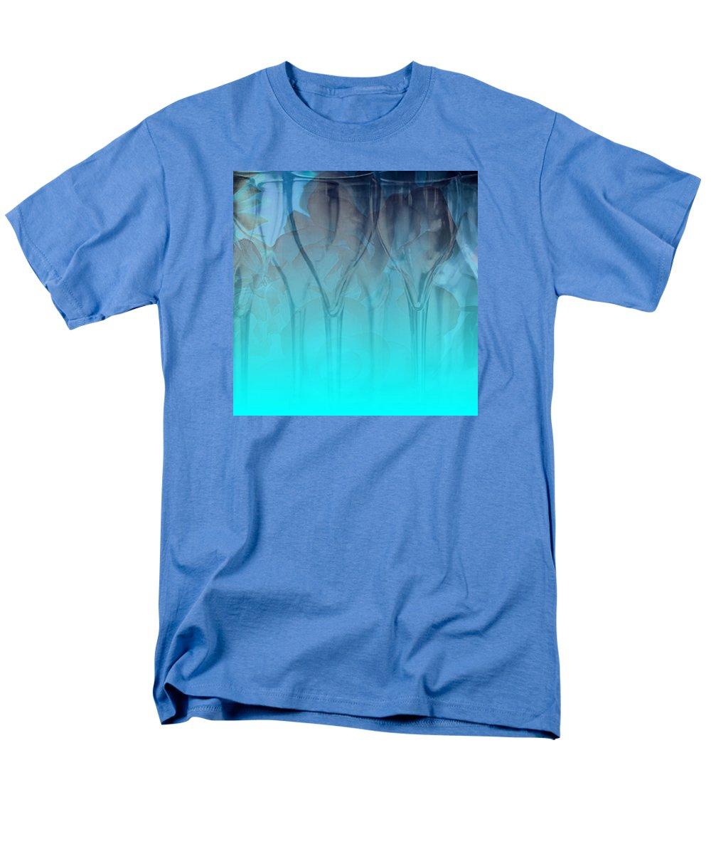 Glasses Men's T-Shirt (Regular Fit) featuring the digital art Glasses Floating by Allison Ashton