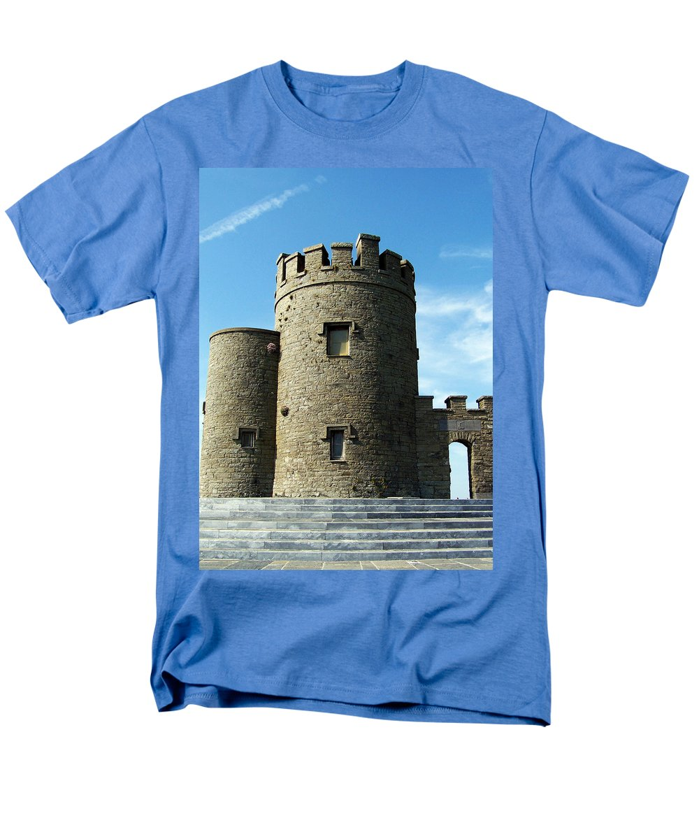 Irish Men's T-Shirt (Regular Fit) featuring the photograph O Brien's Tower Cliffs of Moher Ireland by Teresa Mucha