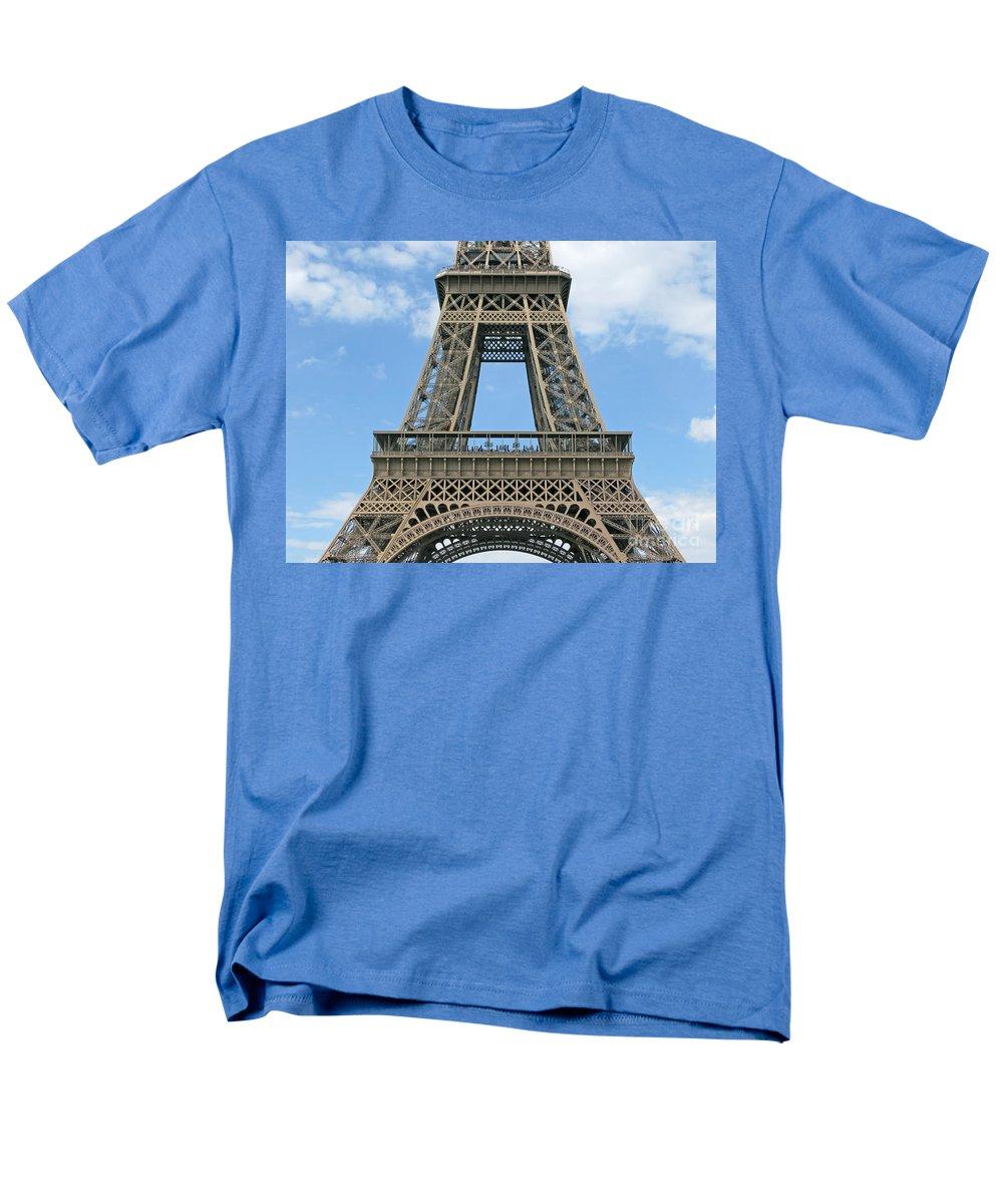Paris Men's T-Shirt (Regular Fit) featuring the photograph Eiffels Genius by Ann Horn