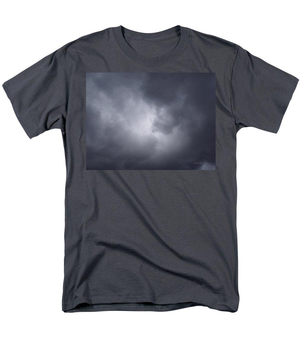 Clouds Men's T-Shirt (Regular Fit) featuring the photograph Cloud Energy by Deborah Crew-Johnson