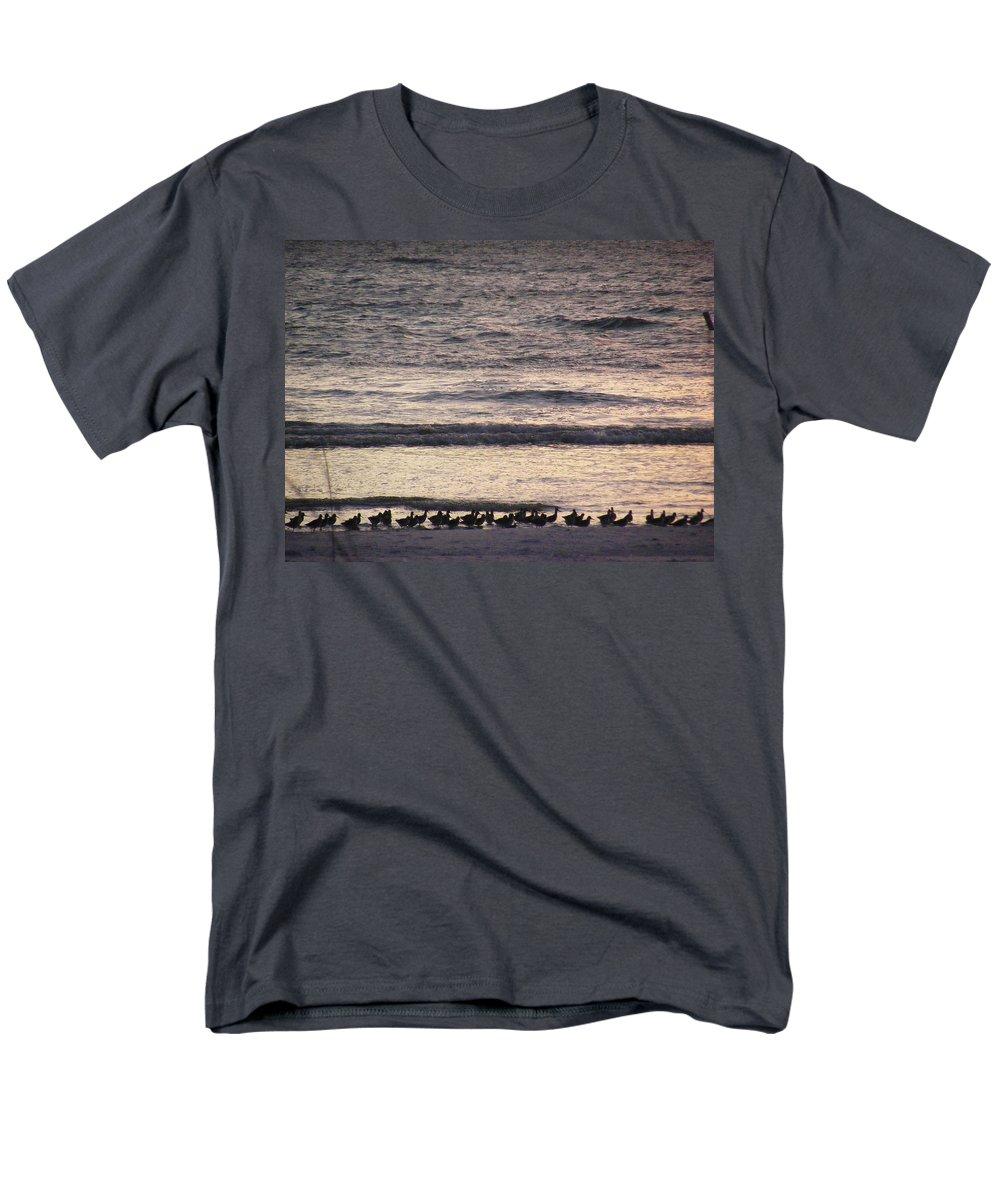 Evening Stroll Men's T-Shirt (Regular Fit) featuring the photograph An Evening Stroll by Edward Smith