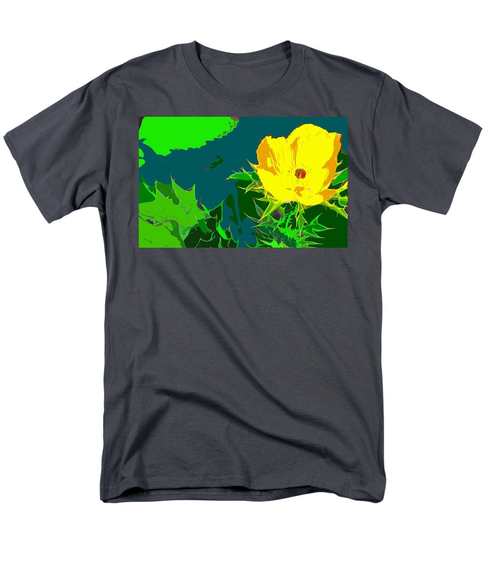 Men's T-Shirt (Regular Fit) featuring the photograph Brimstone Yellow by Ian MacDonald
