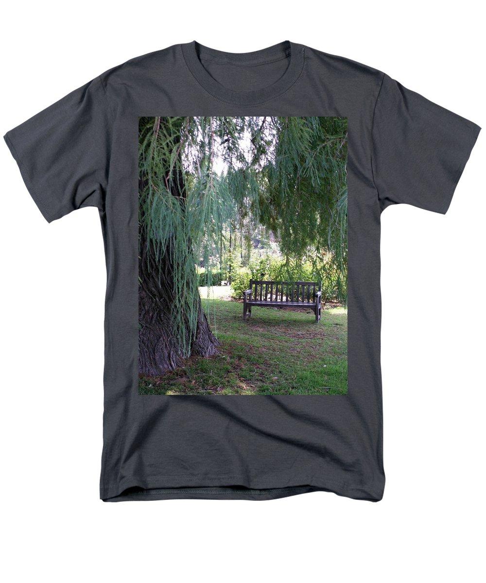 Landscape Men's T-Shirt (Regular Fit) featuring the photograph Calm by Amy Fose