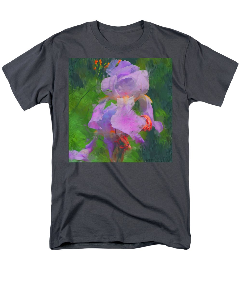 Iris Men's T-Shirt (Regular Fit) featuring the painting Fading Glory by David Lane