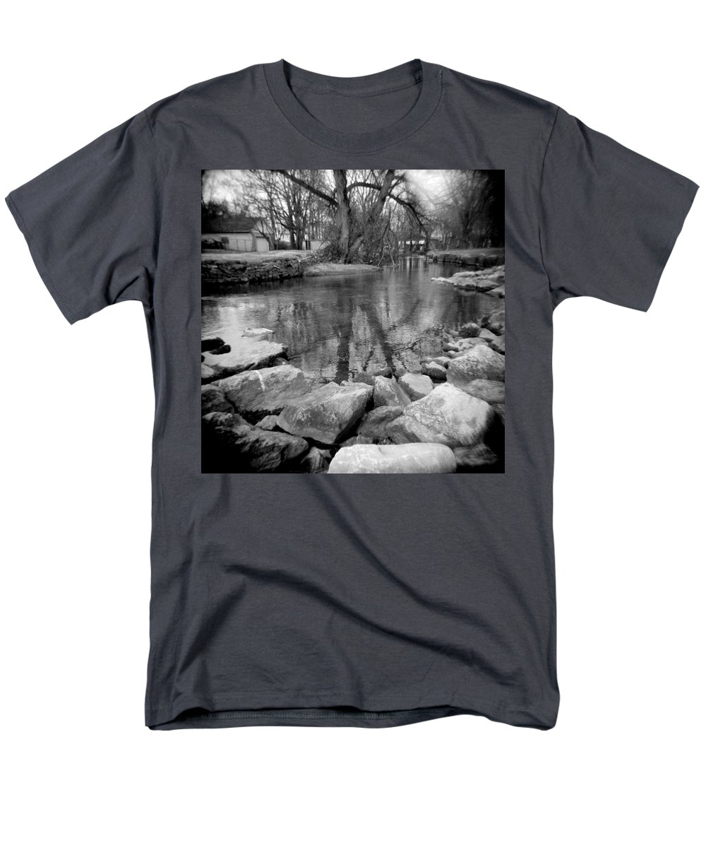 Photograph Men's T-Shirt (Regular Fit) featuring the photograph Le Tort Reflection by Jean Macaluso