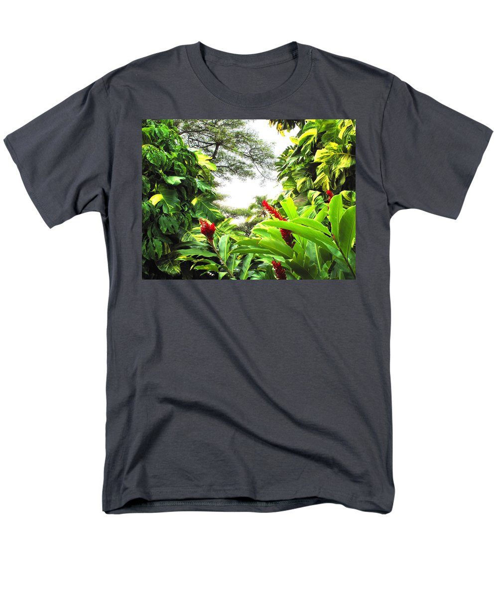 St Kitts Men's T-Shirt (Regular Fit) featuring the photograph Lush by Ian MacDonald