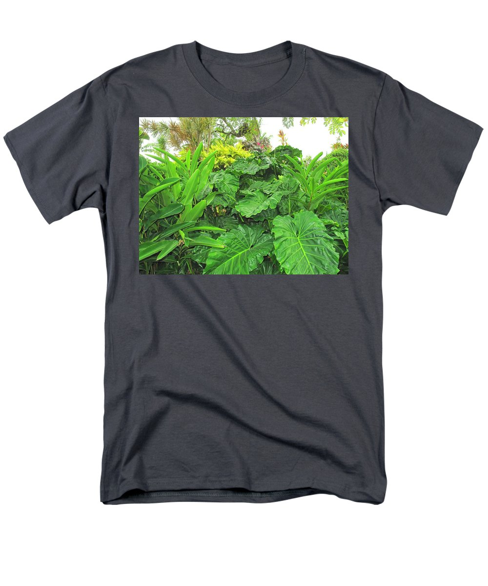 Vegetation Men's T-Shirt (Regular Fit) featuring the photograph Lust Too by Ian MacDonald