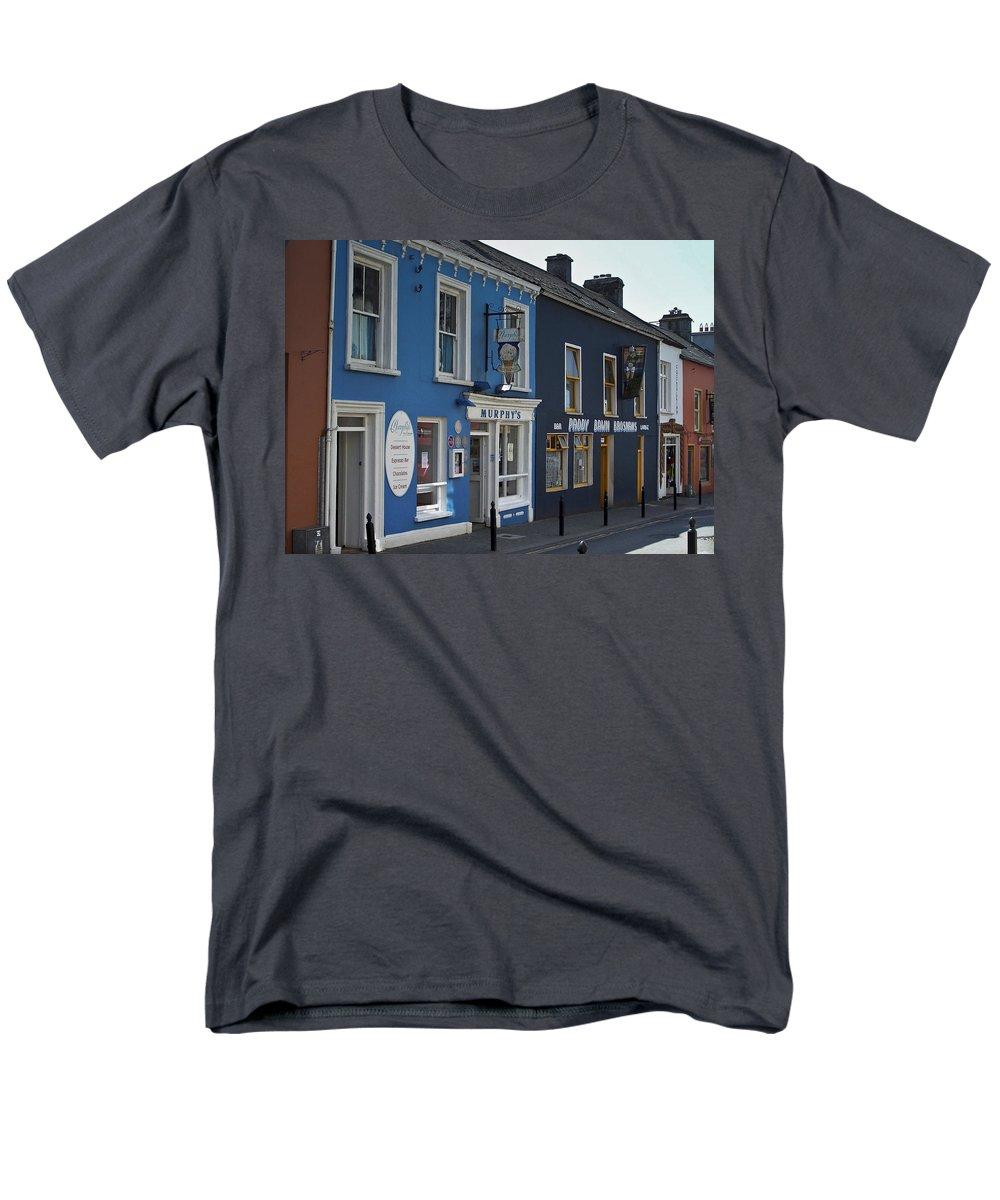 Irish Men's T-Shirt (Regular Fit) featuring the photograph Murphys Ice Cream Dingle Ireland by Teresa Mucha