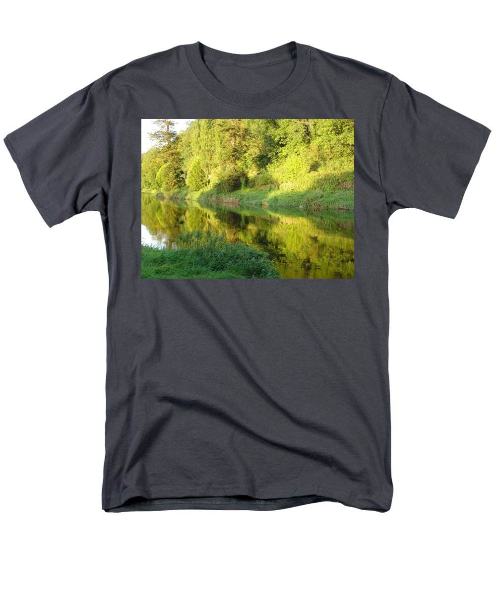 Nore Men's T-Shirt (Regular Fit) featuring the photograph Nore Reflections II by Kelly Mezzapelle