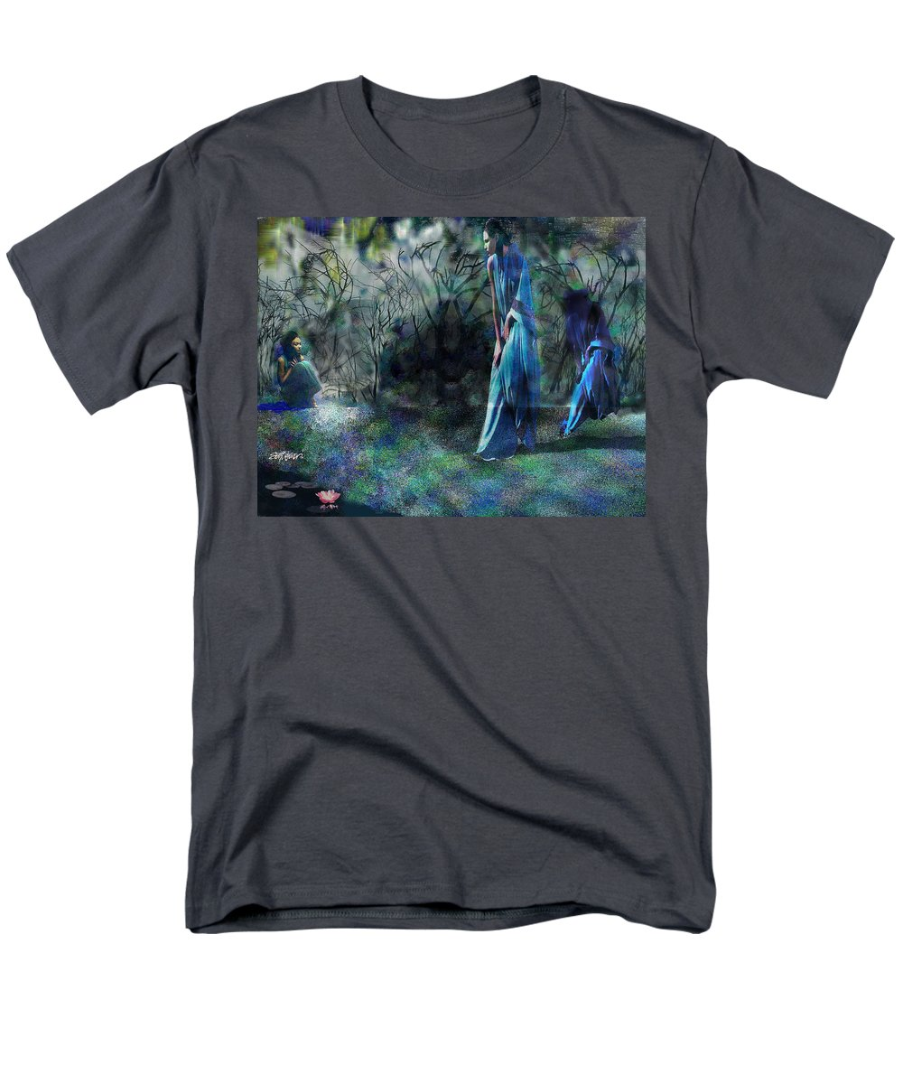 Sisters Of Fate Men's T-Shirt (Regular Fit) featuring the photograph Sisters of Fate by Seth Weaver