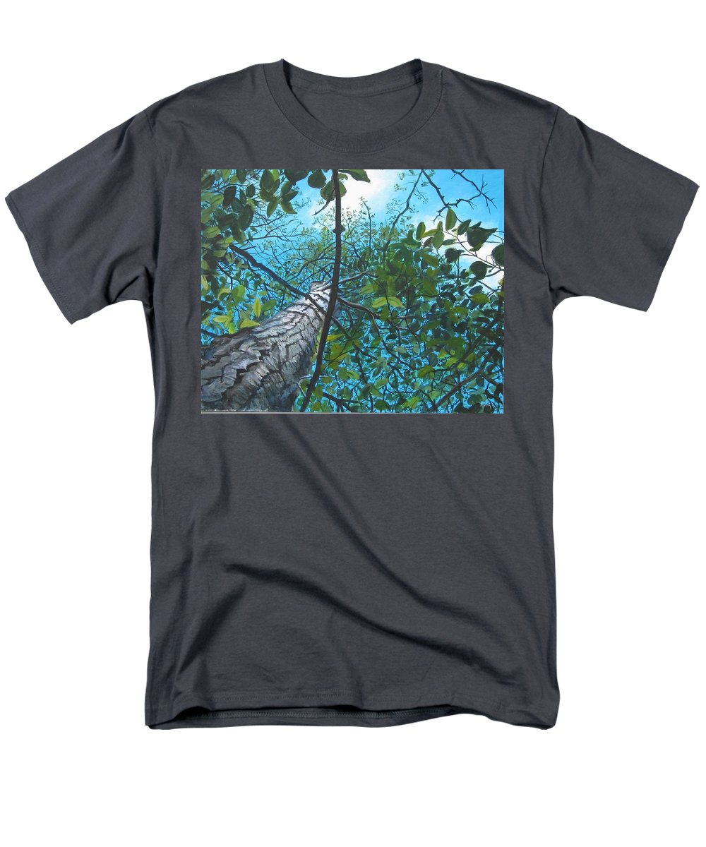 Landscape Men's T-Shirt (Regular Fit) featuring the painting Skyward by William Brody