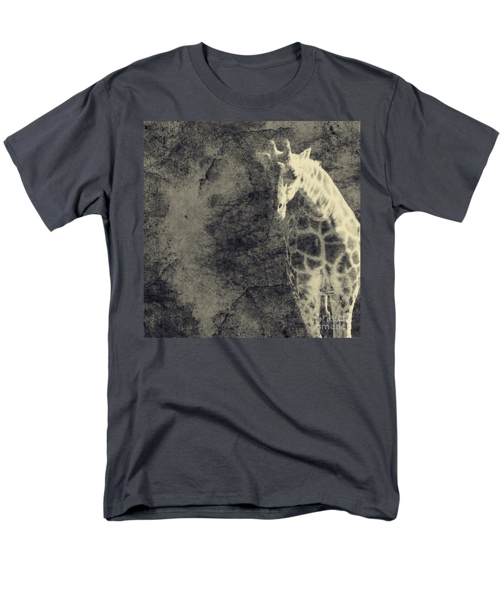 Dipasquale Men's T-Shirt (Regular Fit) featuring the photograph ...the Vast Expanses of the Earth by Dana DiPasquale