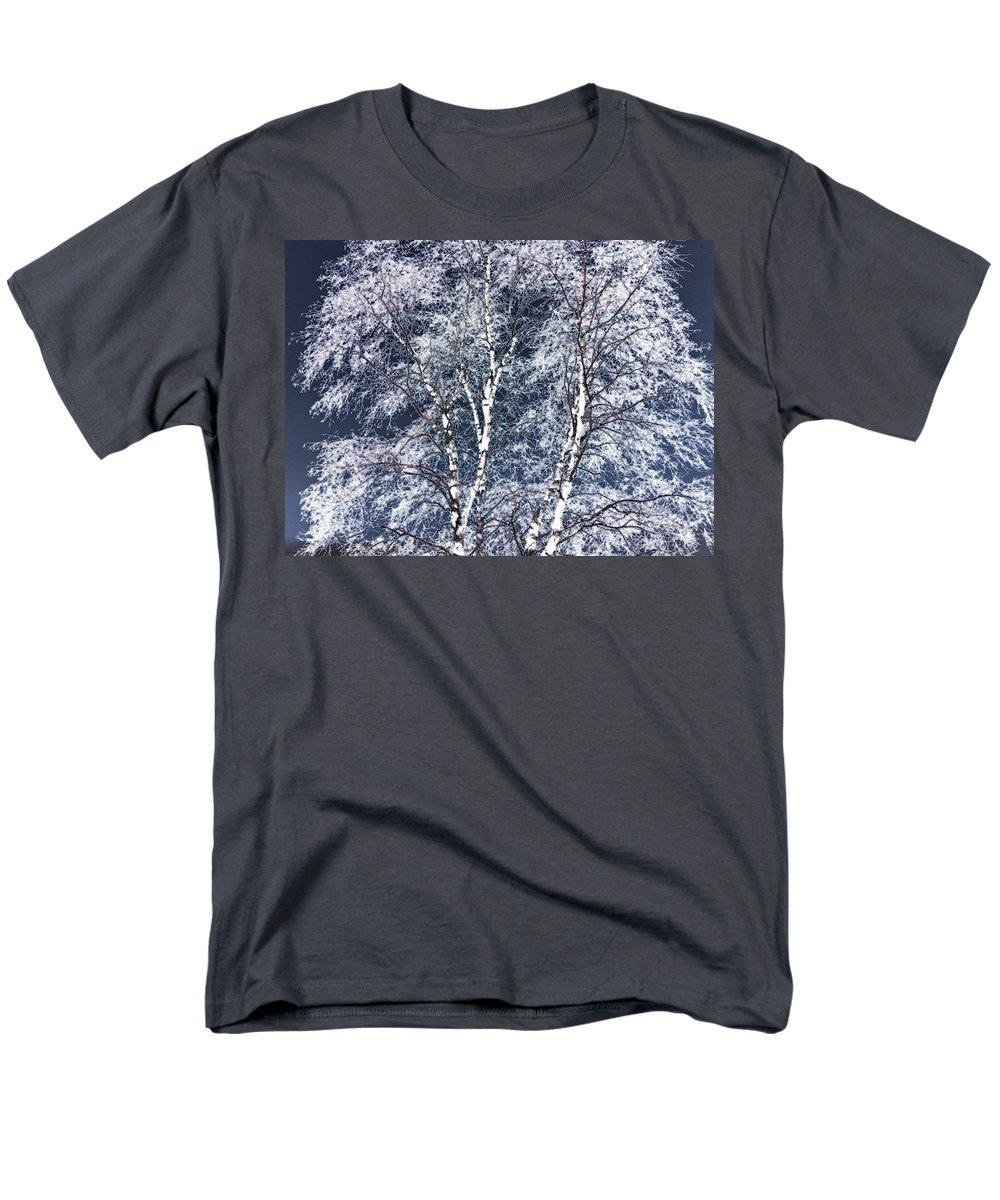 Tree Men's T-Shirt (Regular Fit) featuring the digital art Tree Fantasy 14 by Lee Santa